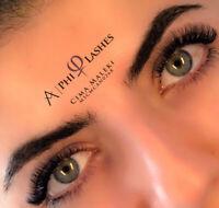 Eyelash extensions promotion ( Sundays & Mondays)