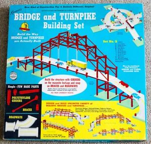 Vintage Kenners Bridge and Turnpike Building Set