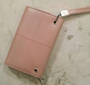 BLACKBERRY CASE WITH MAGNETIC CLOSURE & STRAP, PINK/MAUVE - NEW Cambridge Kitchener Area image 2