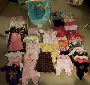 Baby girl clothes 0-3mth