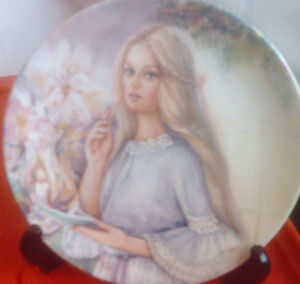 Collector Plate:  Portrait's of First Love series