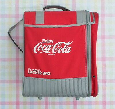 Coca Cola OGIO Locker Gym Bag Coke Red White Shoulder Strap Handle