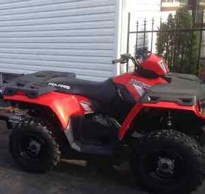 Clean 2013 Polaris sportsman h.o