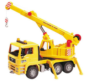 Nearly New-Bruder Man Crane Truck *Great Xmas Gift