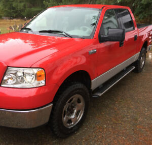 2006 Ford F-150 4x4 SuperCrew XLT Pickup Truck