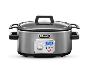 NEW IN BOX! DeLonghi Livenza Programmable Slow Cooker $200 VALUE