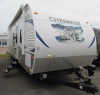 TRAVEL TRAILER,CHEROKEE 284 BHTT,MONCTON