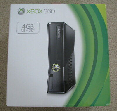 BRAND NEW FACTORY SEALED  Microsoft Xbox 360 4GB Console Slim System S