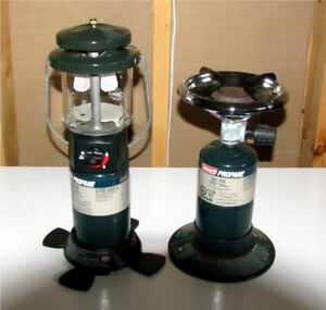 CAMP LANTERN AND STOVE / HEATER by Coleman