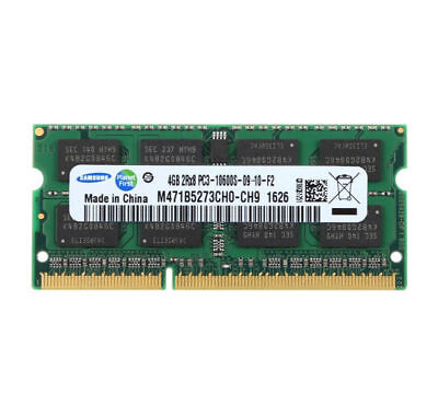 Für Samsung 4GB 2RX8 DDR3 1333 MHz PC3-10600S CL9 SODIMM Laptop RAM Speicher #DF