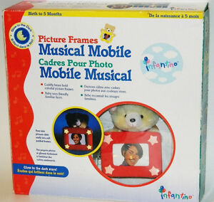 Infantino Picture Frames Musical Mobile New In Box