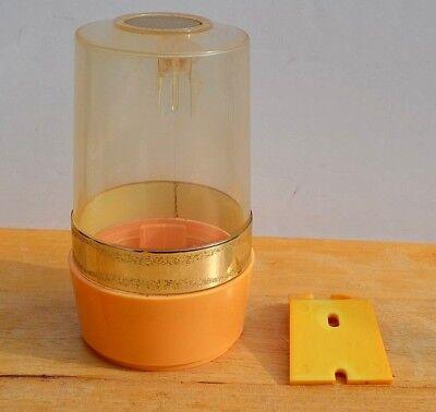P BATHROOM DISPENSER  Model D35 (Gold Solo Cups)