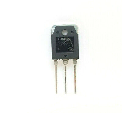 Toshiba 2sk3878 K3878 Mosfet N-channel Fet Rds To-3p