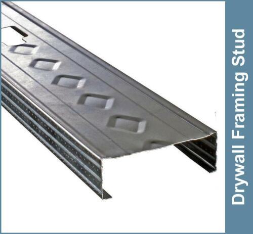 Lot of Ten 3-5/8 in. x 8 ft. 20-Gauge Galvanized Steel Wall Framing Studs NEW!