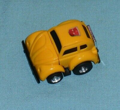 original G1 Transformers yellow BUMBLEBEE 100% COMPLETE #2 (early circle stamp)