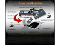 Secure your memories Vhs Mini Dv to DVD or Usb.