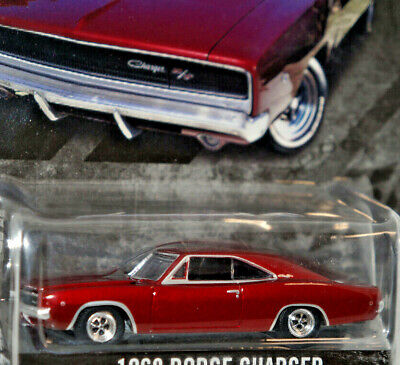 1968 dodge charger anniversary 100 year 1/64 diecast model car new greenlight