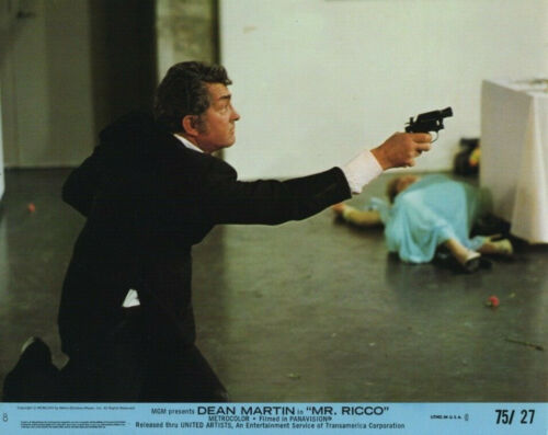 MR RICCO (1975) Original 8x10 Color Set - Dean Martin