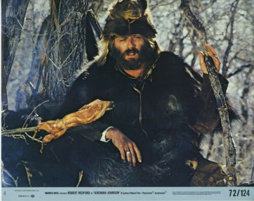 JEREMIAH JOHNSON (1972) Original 8x10 Color Set - Robert Redford