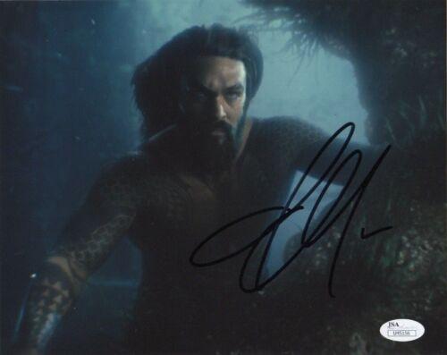 Jason Momoa Aquaman Justice League Autographed Signed 8x10 Photo JSA COA #18