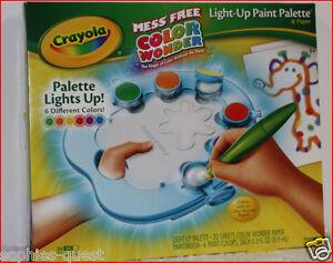 Crayola Color Wonder MESS FREE Light-Up PAINT Set ...