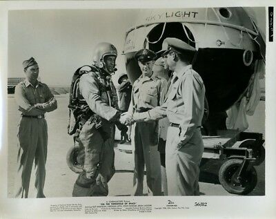 GUY MADISON JOHN HODIAK DEAN JAGGER ON THE THRESHOLD SPACE ORIG 8X10 PHOTO X5659