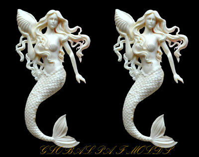 Sugarcraft Molds Polymer Clay Molds Cake Decorating Tool 1 piece Mermaid mold 0