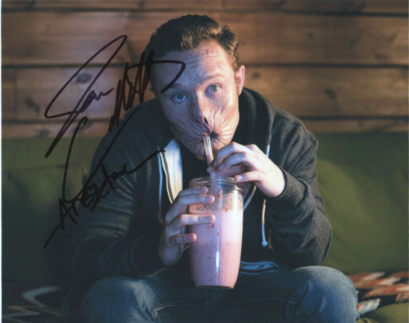 Ian Colletti Preacher Autographed Signed 8x10 Photo COA
