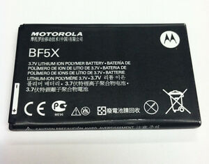NEW OEM ORIGINAL MOTOROLA BF5X XT862 DRIOD 3 BRAVO MB520 MB525 DEFY BATTERY