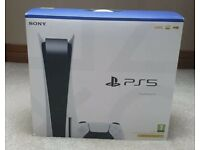 USED AND BOXED SONY PLAYSTATION 5 DISC PS5 CONSOLE - NO OFFERS/TEXTS