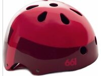 (2508) NEW, SIXSIXONE 661 DIRT LID CYCLING SKATING BMX HELMET BIKE BICYCLE Size: 58-62cm