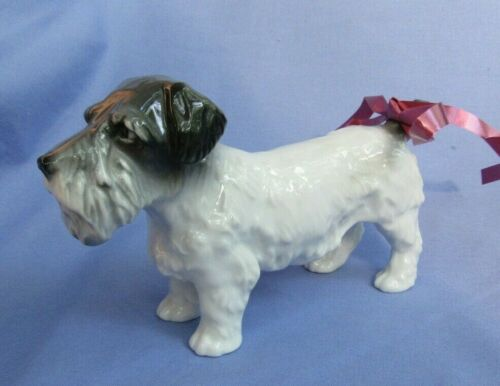 "SEALYHAM CESKY TERRIER ENS GERMANY 7"" DOG"