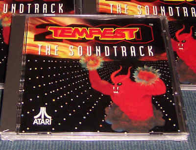 Tempest Audio CD Atari Jaguar New!