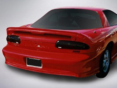 2-Piece Smoke Tail Light Covers for 1993 - 2003 Chevrolet Camaro (Smoke Tail Light Covers)