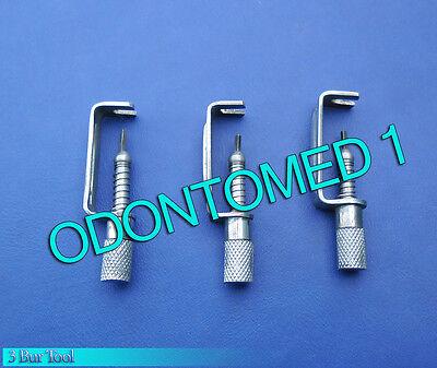 3 Bur Tool Surgical Dental Instruments