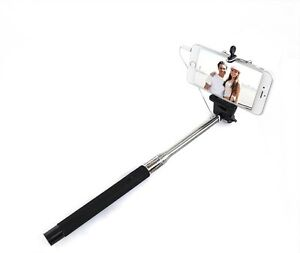 telescopic handheld monopod selfie stick for apple iphone 4 4s 5 5s 5c 6 6plus. Black Bedroom Furniture Sets. Home Design Ideas