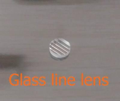 Laser Line Beam Glass Line Lens Glass Not Plastic 90 Degrees Clear Beam