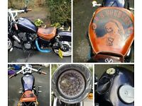 Custom Kawasaki Bobber