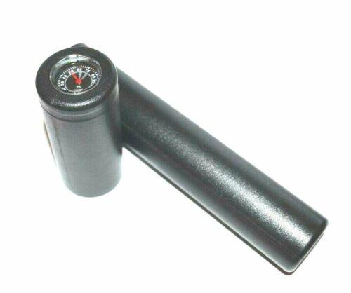 Perfecto Crush Proof Cigar Case 64 Ring Gauge Adjustable Cigar Tube + Hygrometer
