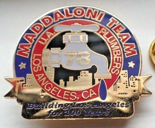 UA Plumbers Local 78 Los Angeles, Ca Maddaloni Team Building LA for 100 Years