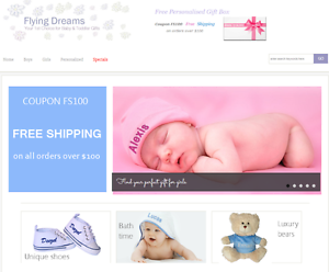Unique Personalised Baby Gifts Online Business for Sale Rouse Hill The Hills District Preview
