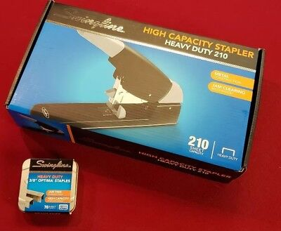 Swingline High-capacity Heavy-duty Stapler Blackgray 90002 Plus Staples New