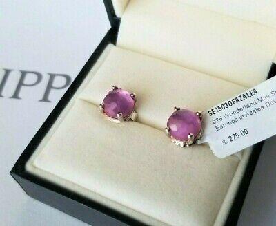 Ippolita - Wonderland Mini Stud Earrings in Purple Azalea - New with Tags! $275