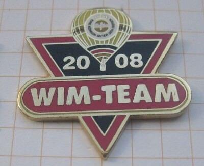 WARSTEINER BALLON  / WIM - TEAM 2008 ........ Bier-Pin (171f)