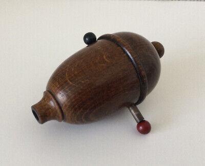 Vintage Wooden Acorn Light Switch