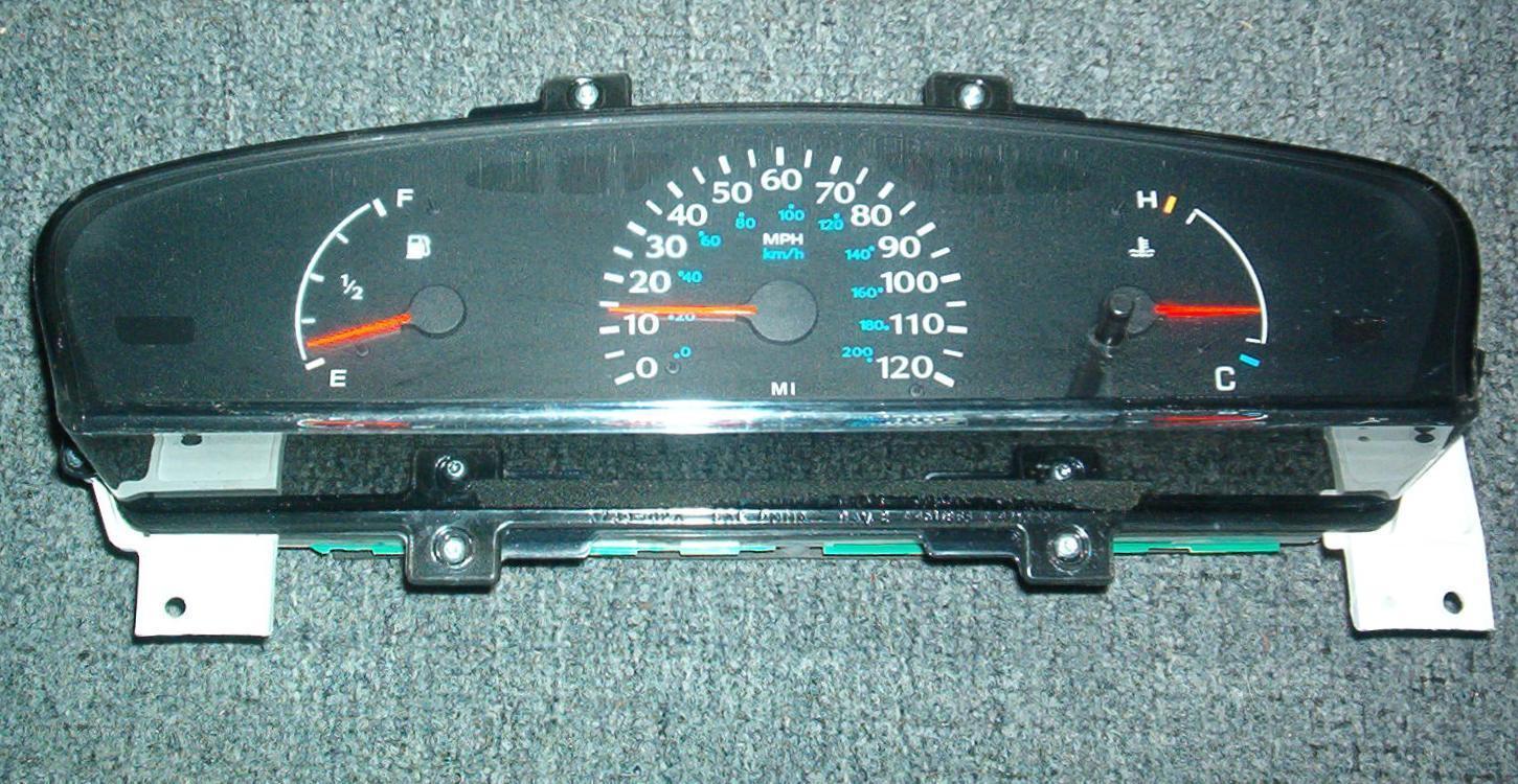 Instrument Cluster Repair: Dodge Neon Instrument Cluster Repair