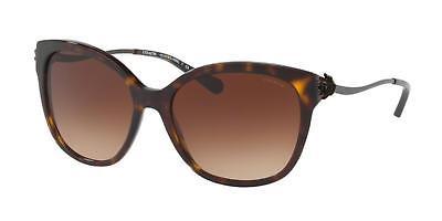 Coach Women's HC 8218 548813 Dark Tortoise Gradient Sunglasses New Authentic