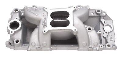 Pontiac Big Block - Edelbrock 7562 2-R RPM Air-Gap Intake Manifold Big Block Chevy Rectangle Port