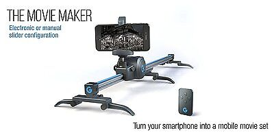 Grip Gear S Movie Maker Set   Electronic Sliding Track System 360 Panoramic