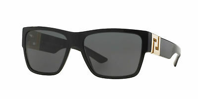 Versace Sunglasses VE 4296 GB1/87 Black / Gray 59 mm NEW